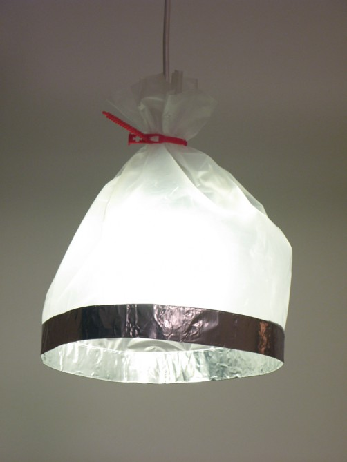 zaklamp zilver wit transparant